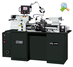 CYCLEMATIC CTL-618E / 5C High precision toolmakers lathe with high speed spindle